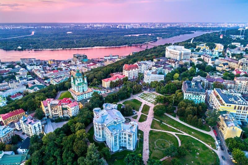 Le Musée National de l'histoire de l'Ukraine à Kiev image stock