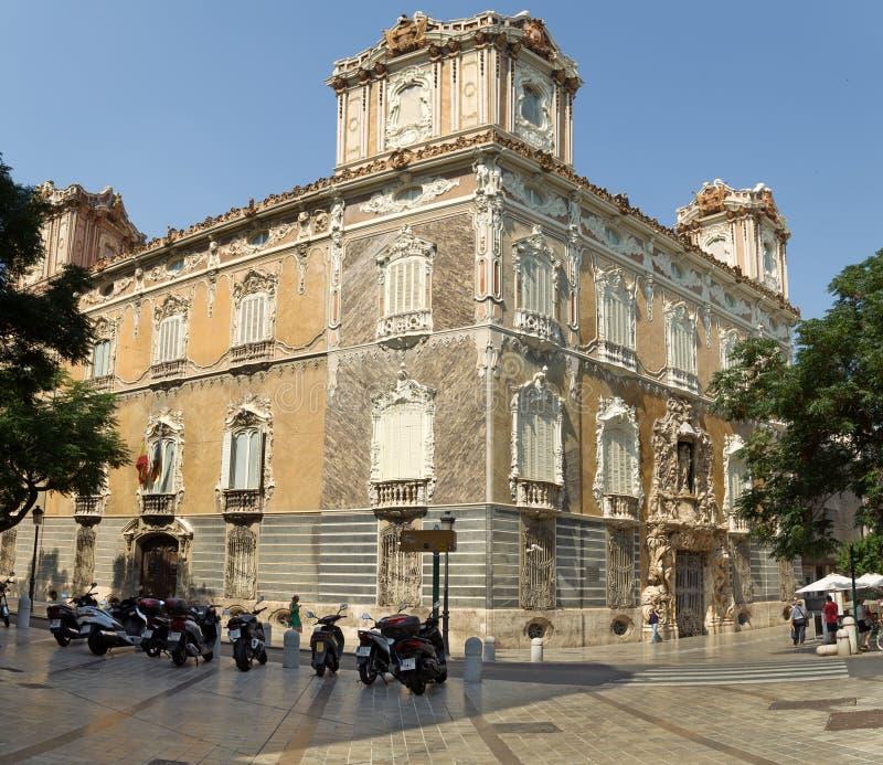 Le Musée National de la céramique et des arts décoratifs à Valence image stock