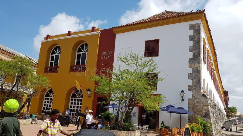 Le musée naval de musée naval des Caraïbe, Cartagen est indien photographie stock libre de droits