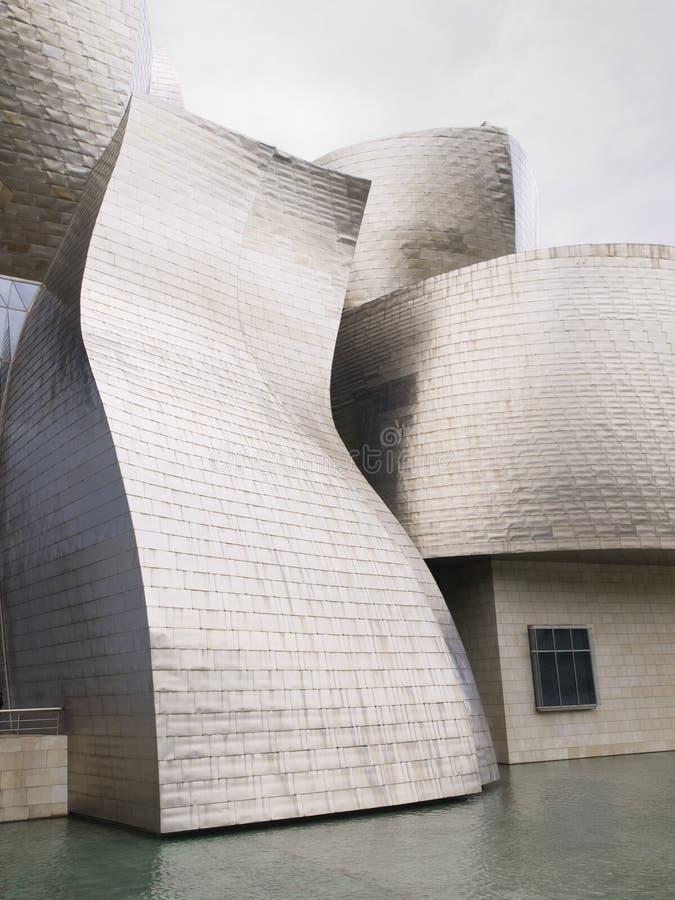 Le mus?e de Guggenheim ? Bilbao, Espagne photos libres de droits
