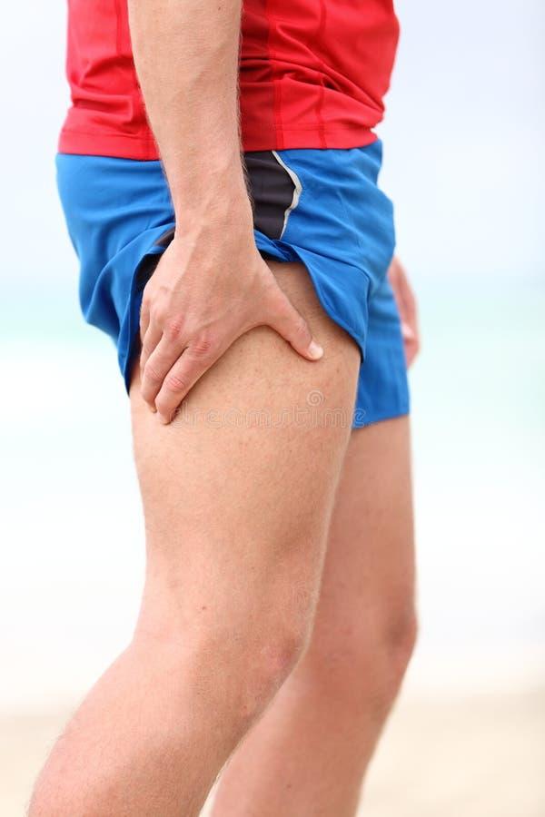 Le muscle folâtre des blessures photos stock