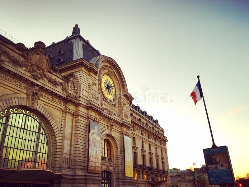 Le Musee d`Orsay royalty free stock image