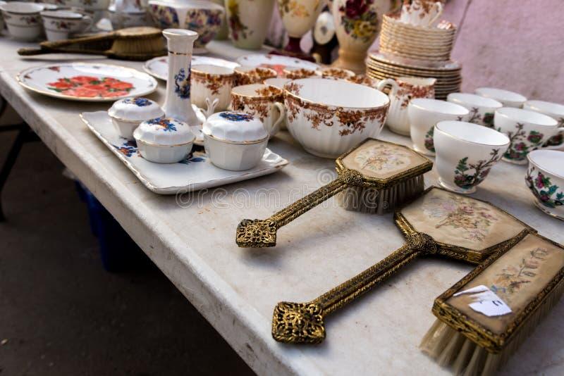 Le négociant Fair et le marché aux puces à Haïfa photos stock