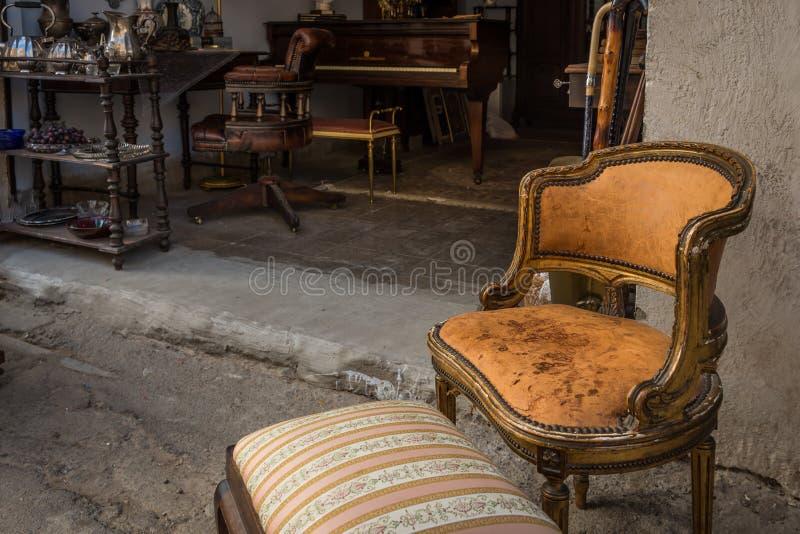 Le négociant Fair et le marché aux puces à Haïfa images stock