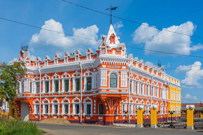 Le négociant russe House photographie stock