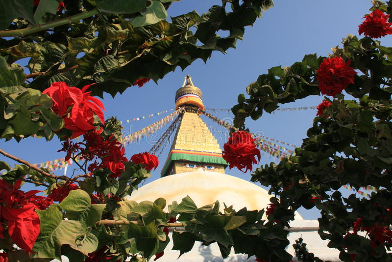 Le Népal images libres de droits