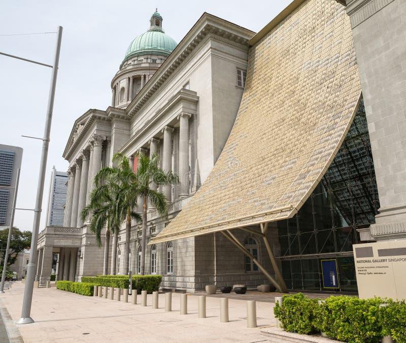 """Le National Gallery dans la galerie Singapour d'""""National de Singapour photographie stock"""