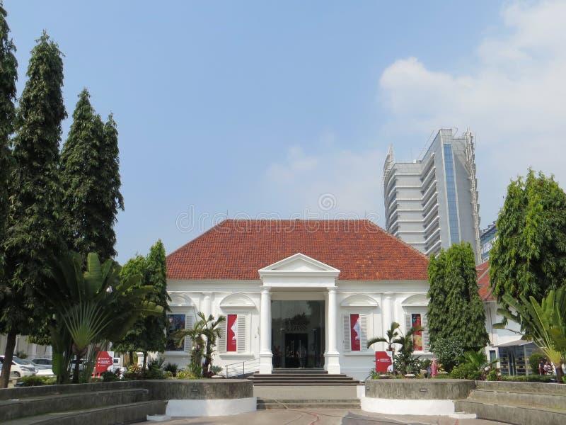 Le National Gallery de l'Indonésie image stock