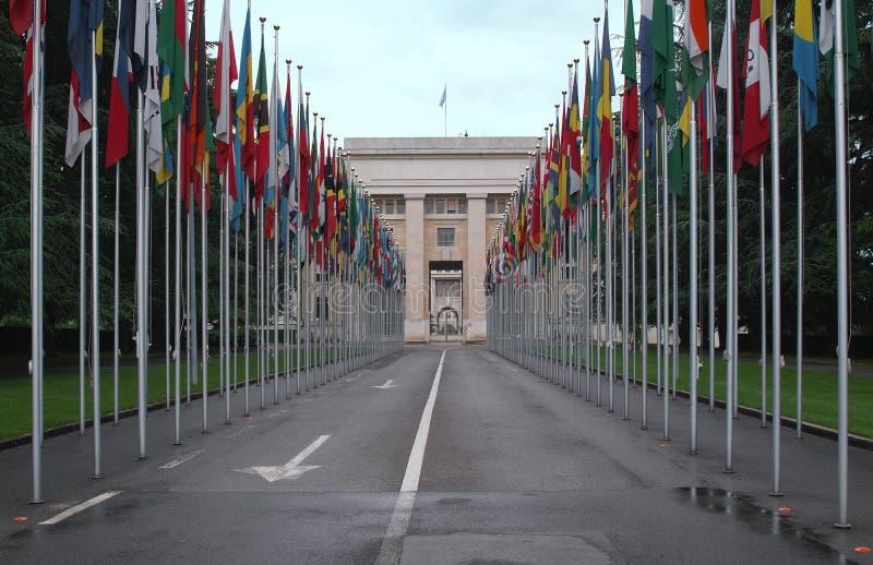 Le nazioni unite fotografie stock