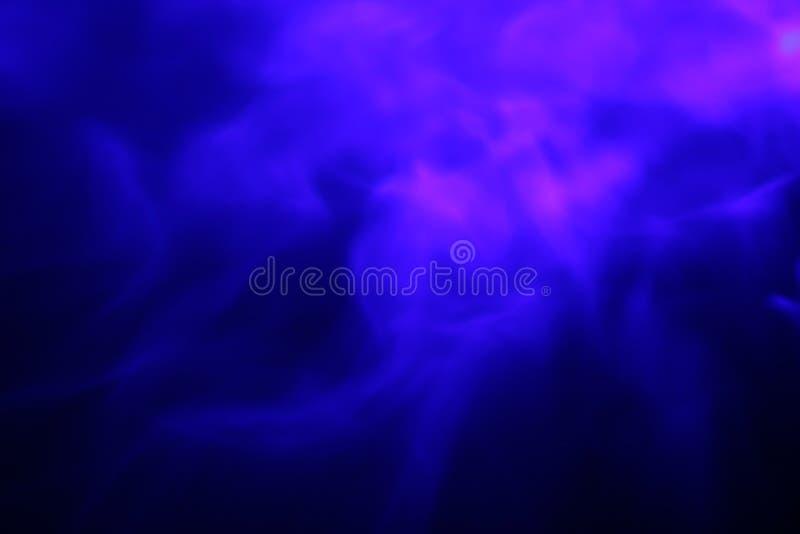 Le nebulose blu intossicano la nube fotografia stock