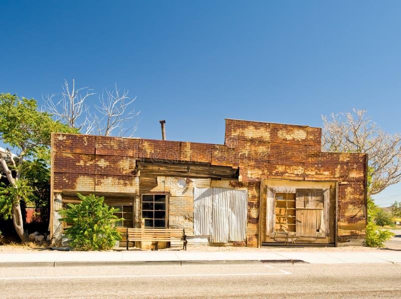 Le Nevada de construction abandonné photo libre de droits