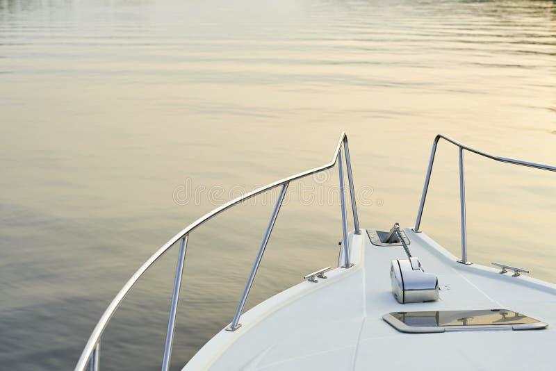 Le nez du bateau image stock