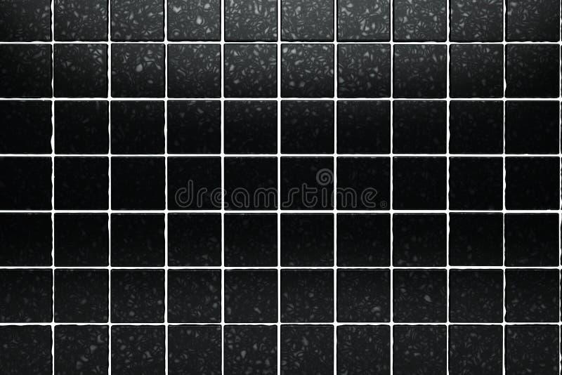 le noir couvre de tuiles le fond illustration libre de droits