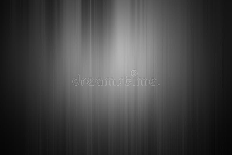 Le noir et l'argent sont gris-clair avec blanc le gradient illustration de vecteur