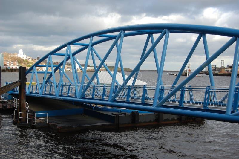 Le nord protège l'atterrissage de ferry photo libre de droits