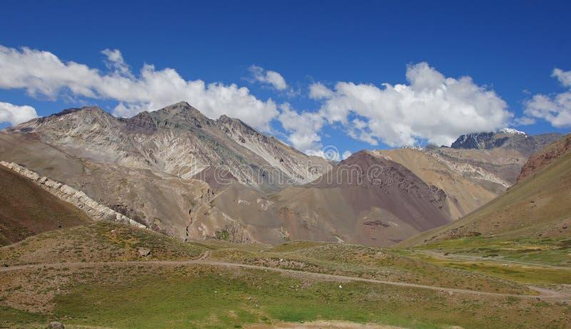 Le NP Aconcagua, montagnes des Andes, Argentine image stock