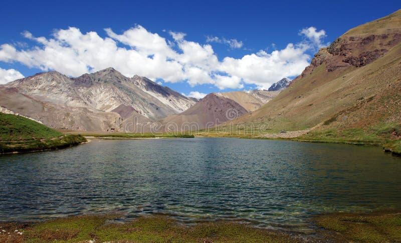 Le NP Aconcagua, montagnes des Andes, Argentine images libres de droits