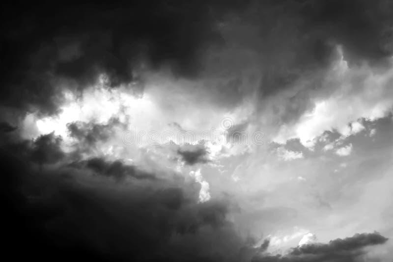 Le nuage de tempête dramatique photos libres de droits
