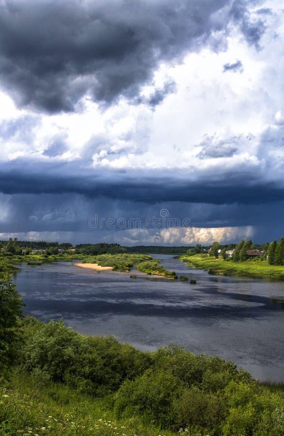 Le nuvole fotografie stock