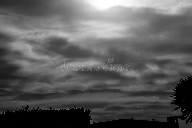 Le nuvole classiche immagini stock libere da diritti