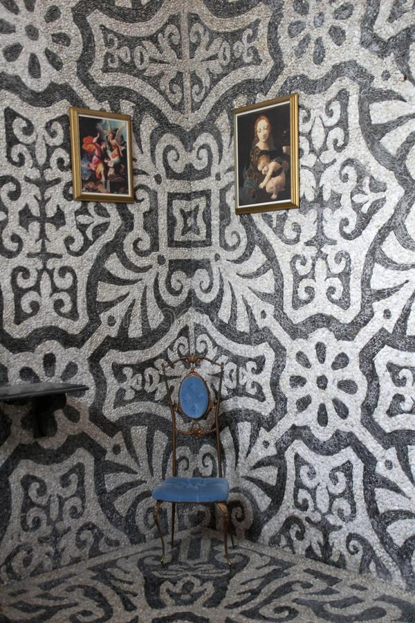 Le Nymphaeum de la villa Visconti Borromeo Arese Litta - Lainate Italie photo stock