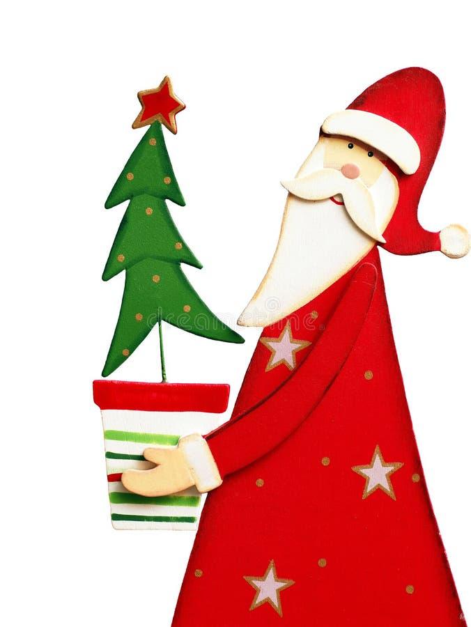 Le père noël - saison de Noël image stock