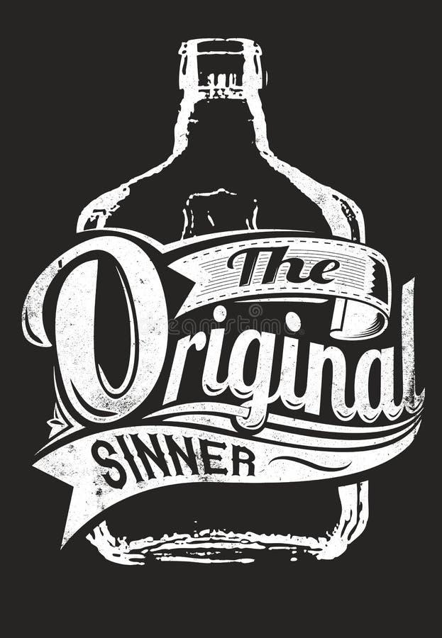 Le pécheur original illustration libre de droits
