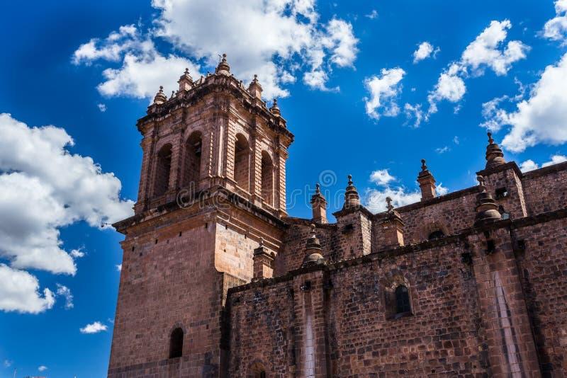 Le Pérou, basilique de cathédrale de notre Madame de l'hypothèse, Cuzco photographie stock libre de droits