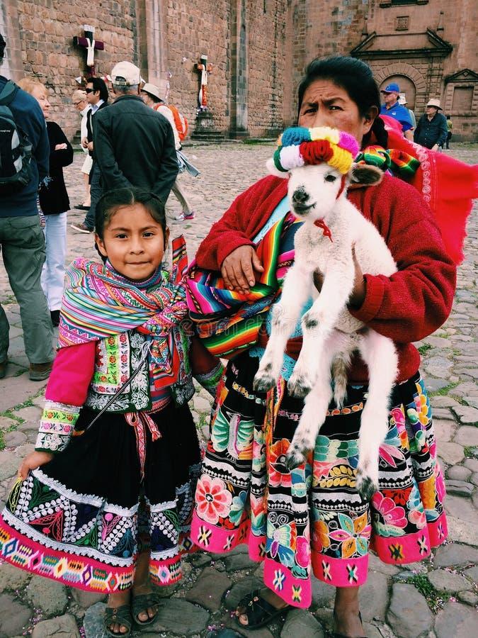 Le Pérou dans une photo photographie stock libre de droits