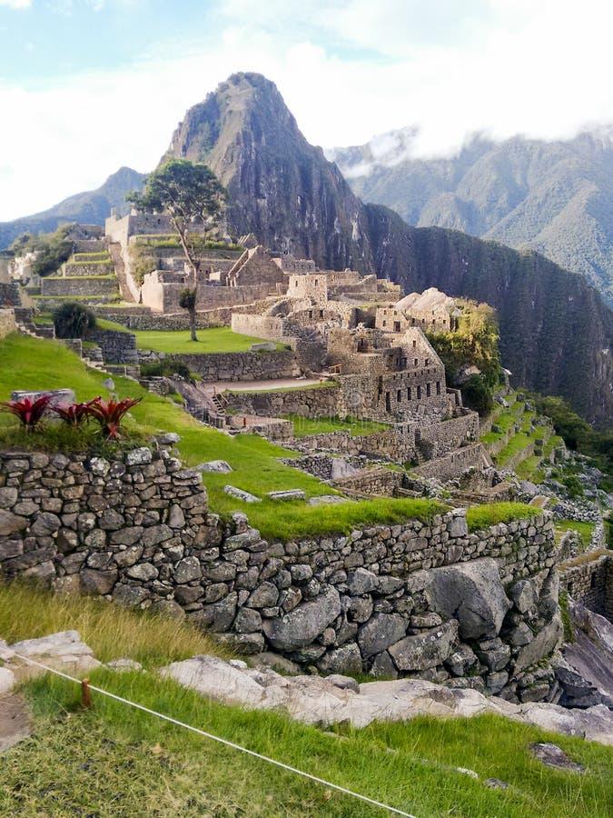 Le Pérou/Machu Picchu image stock