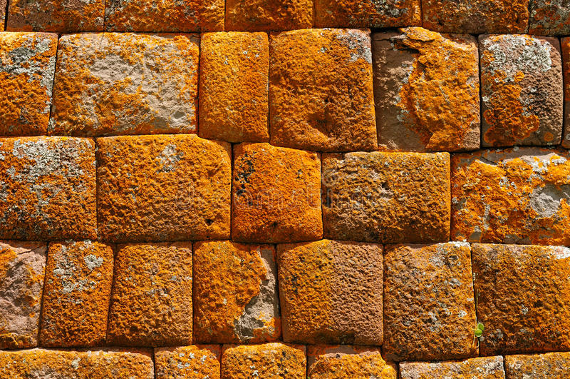 Le Pérou, vallée sacrée, ruines d'Inca de Pisaq images stock