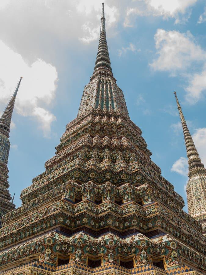 Le pagode grandi fotografia stock