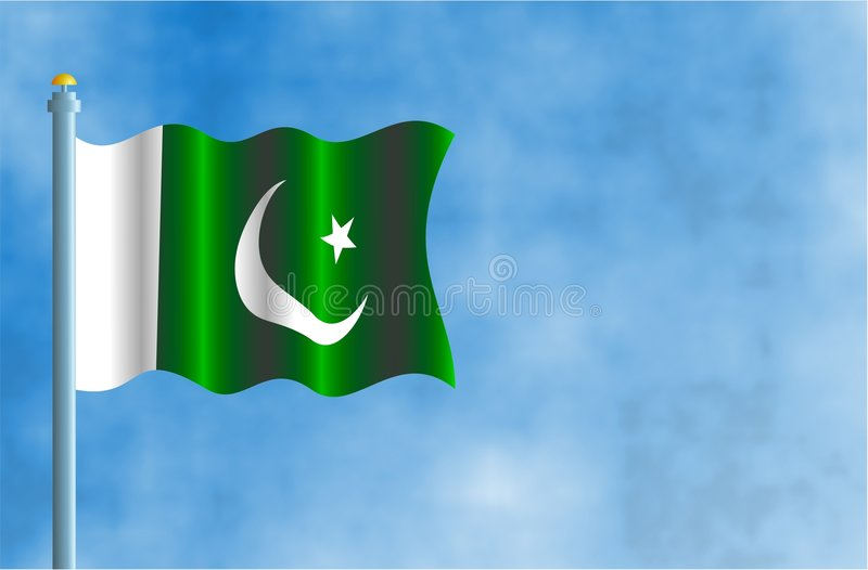 Download Le Pakistan illustration stock. Illustration du star, course - 66581