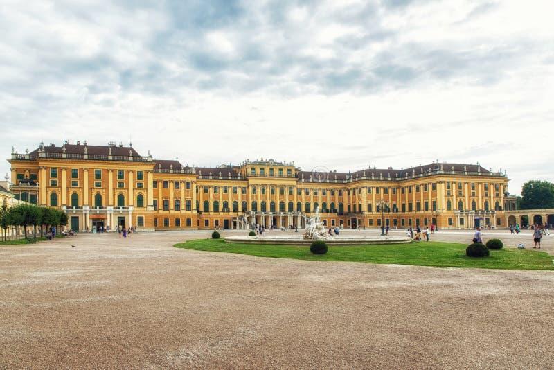 Le palais célèbre de Schonbrunn à Vienne, Autriche image libre de droits