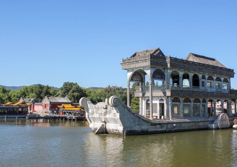 Le palais d'été à Pékin image stock