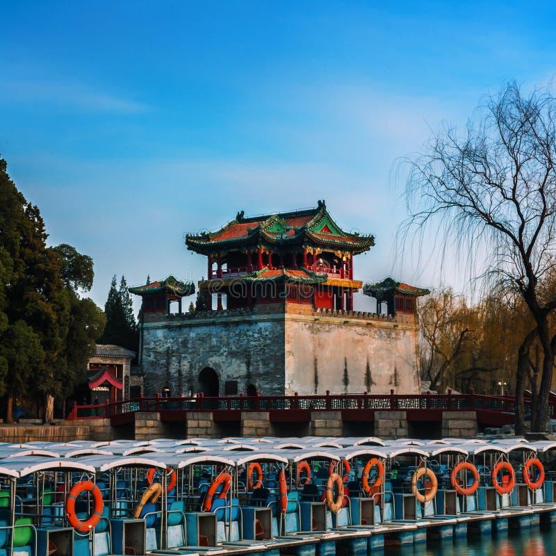 Le palais d'été à Pékin photos stock