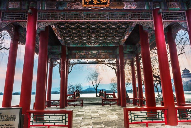 Le palais d'été à Pékin images stock