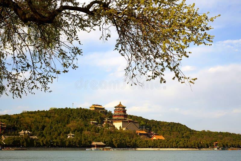 Le palais d'été, Pékin image stock