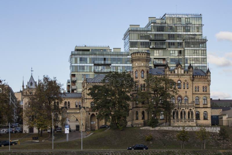 Le palais d'ius de  de keviÄ de ¡ de RaduÅ est un bâtiment à Vilnius lithuania photo libre de droits