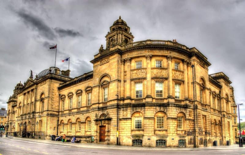 Le palais de corporations à Bath, Angleterre images stock