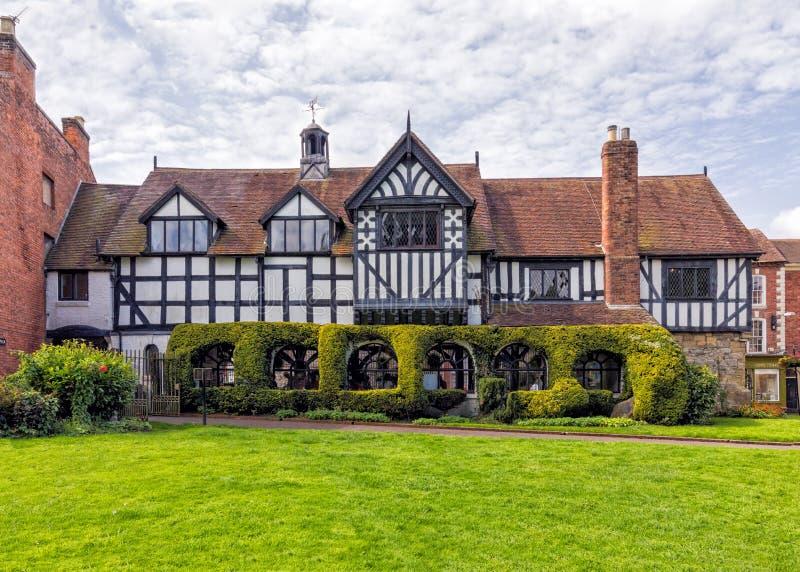 Le palais de corporations, beaucoup de Wenlock, Shropshire images stock