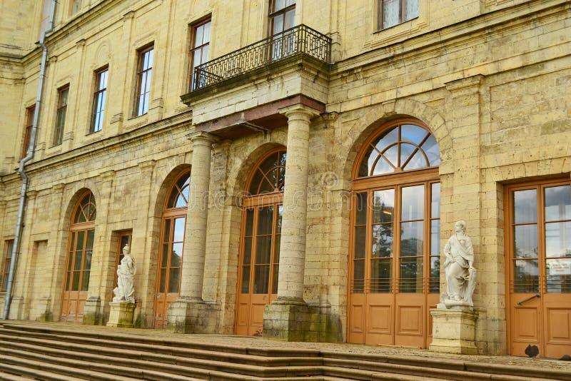 Le palais de Gatchina images stock