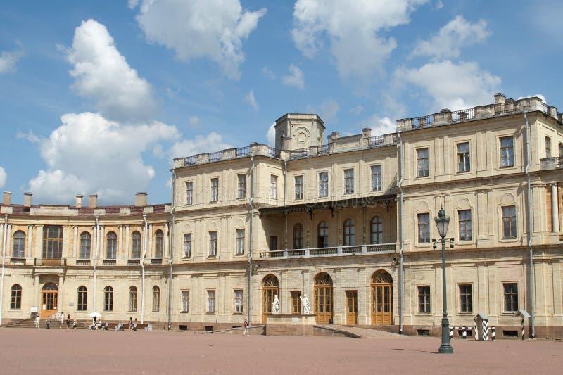 Le palais de Gatchina image libre de droits