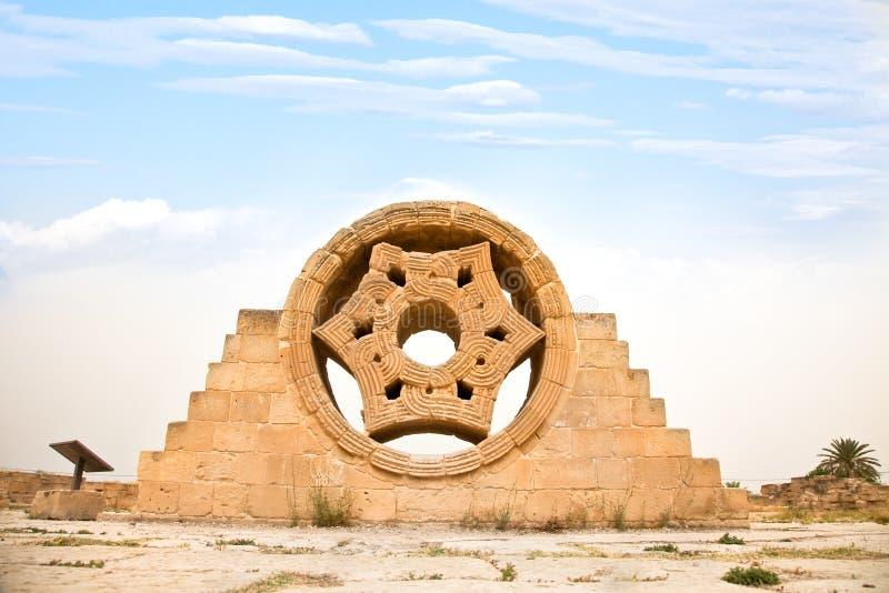 Le palais de Hisham à Jéricho. l'Israël photo libre de droits