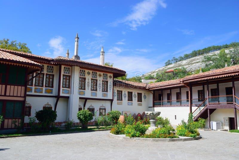 Le palais de Khan dans Bakhchisarai crimea photographie stock