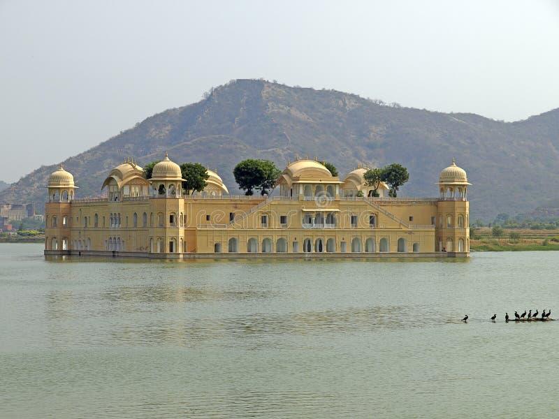 Le palais de l'eau de Jaipur, Inde photographie stock libre de droits