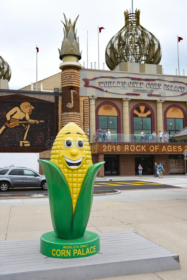 Le palais de maïs photos libres de droits
