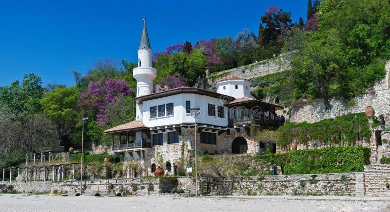 Le palais de Queen Mary dans Balchik photographie stock libre de droits
