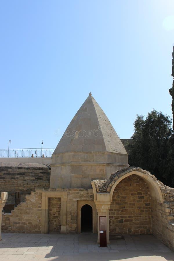 Le palais de Shirvanshah, Bakou photographie stock libre de droits