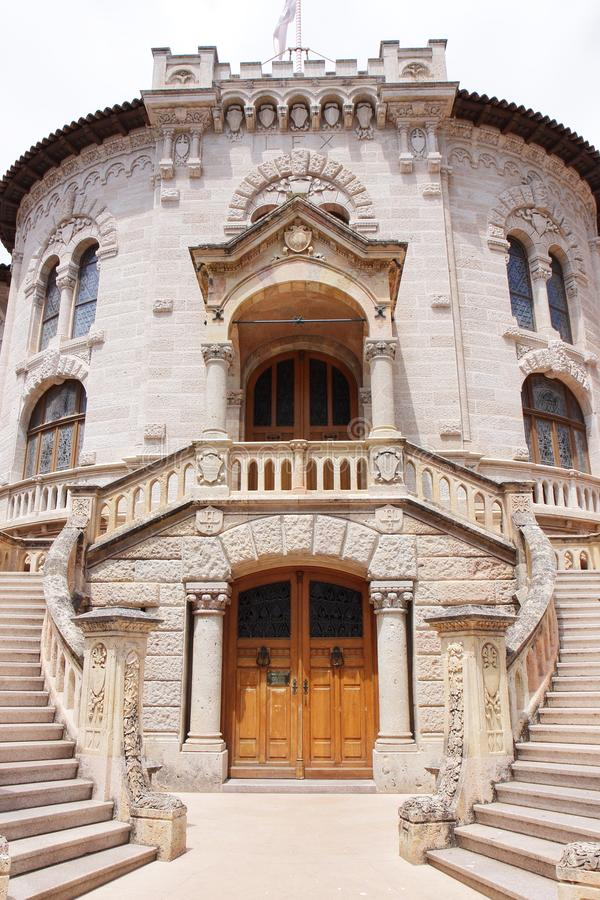 Le Palais De sprawiedliwość w Monaco mieście obraz royalty free